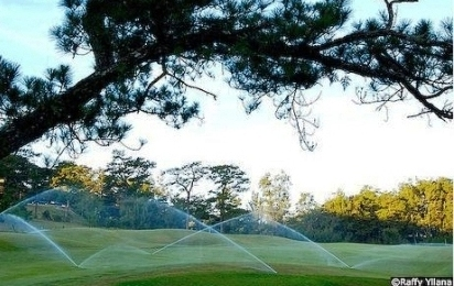 Camp John Hay Golf Course Sprinklers