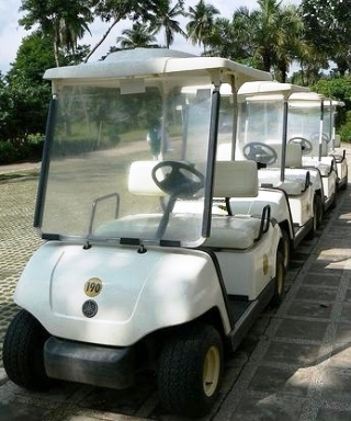 Canlubang Golf Course Buggies