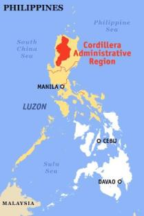 Cordillera Administrative Region, or CAR is in central, northern ...