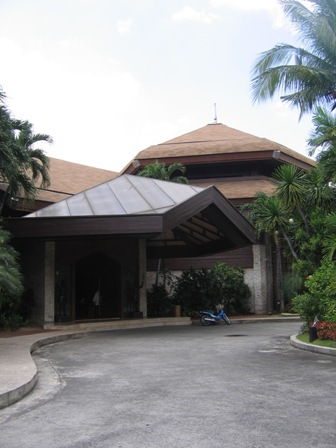Coconut Palace Front Door