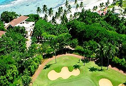 Boracay Golf Fairways and Bluewater aerial view