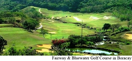 Boracay Golf Course Fairways & Bluewater