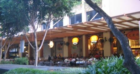 Greenbelt Shopping Mall Outdoor Dining