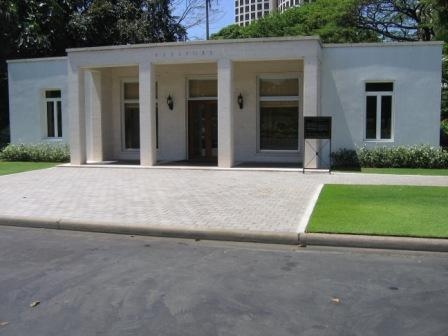 Manila American Cemetery Front Office