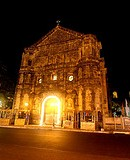 Malate Church at night