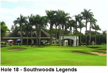 Manila Southwoods Golf Club Hole 18
