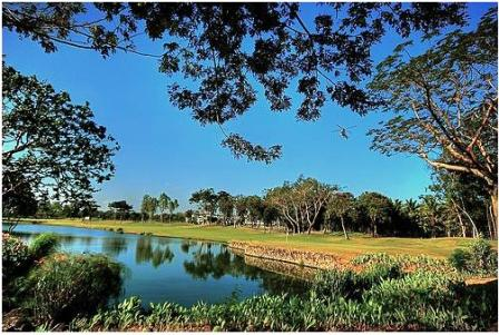Manila Southwoods Golf Club Hole 9
