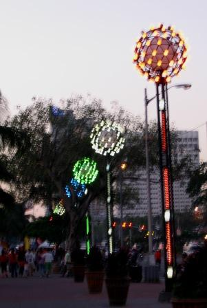 Manila Baywalk Lights