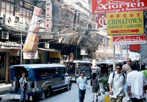 gpin Street in the heart of Binondo Manila s Chinatown