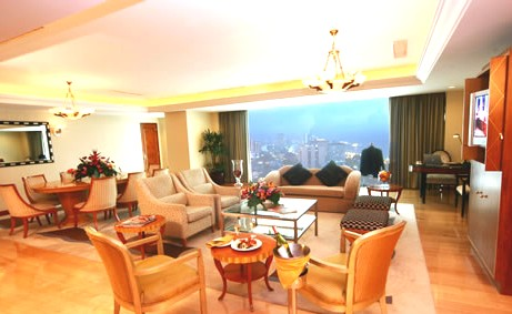 Pan Pacific Manila Presidential Suite