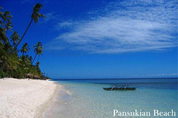 Pansukian Beach on Siargao Island