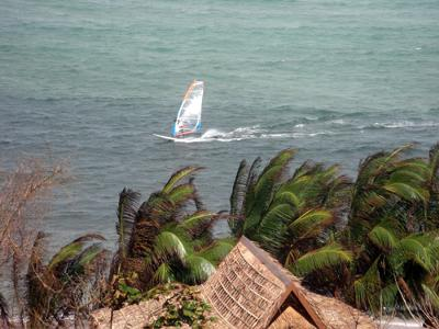 Quijano Windsurfing Retreat on Cuyo Island