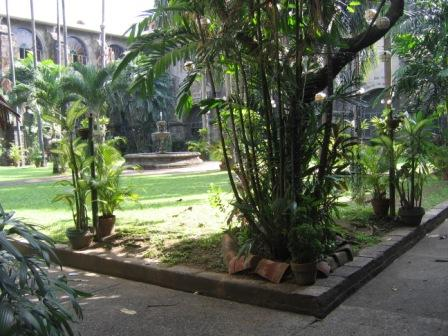San Agustin Church & Museum Courtyard