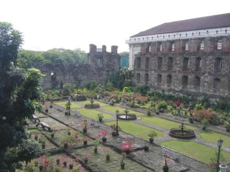 San Agustin Church & Museum Father Blanco's Garden