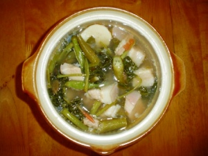Filipino Food - Sinigang Pork in Tamarind