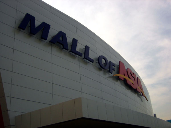 SM Mall of Asia in Manila