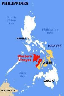 Western Visayas Region in one of the three regions in the Visayas.