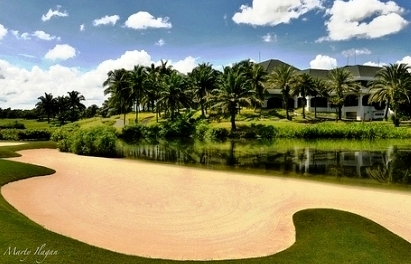 Manila Southwoods Golf Course - Bunker