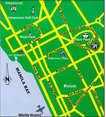 Paco Park Map