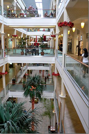 Power Plant Mall Interior