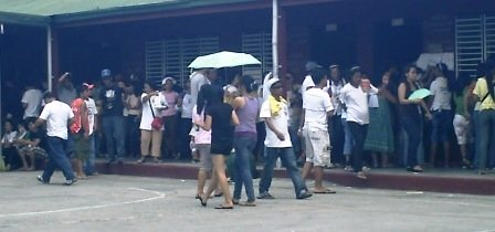 Queuing for the Philippine Elections
