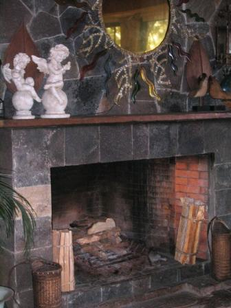 South Drive Manor Fireplace