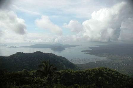 Lake Taal from Tagaytay